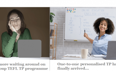 New one-to-one Personalised Teaching Practice course